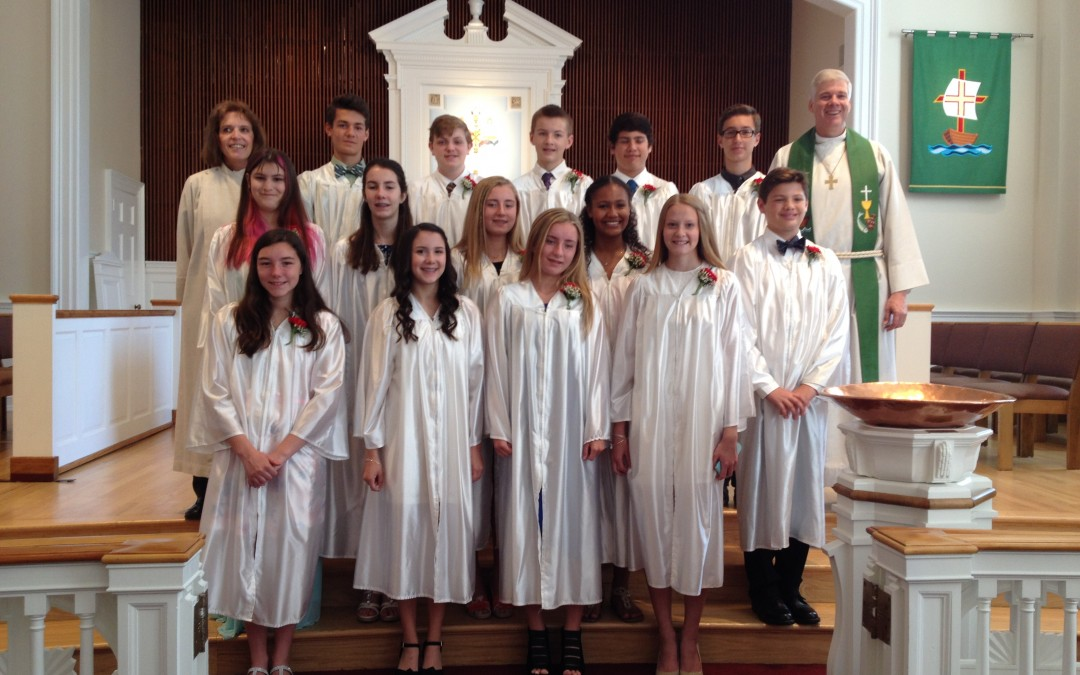 Confirmation Ministry Begins with Orientation Sept 10th