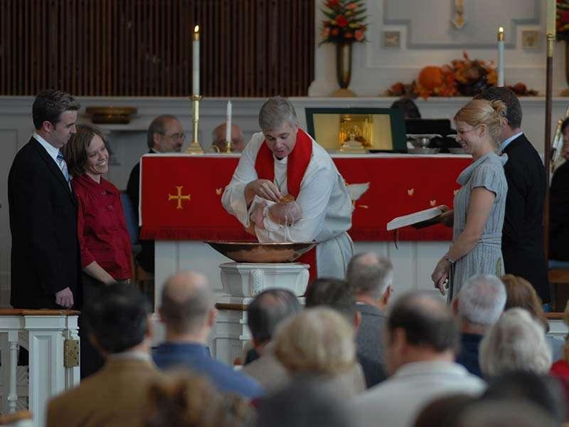 Liturgical Church in Haddonfield,NJ. Believe faith is a lifelong journey beginning with baptism.