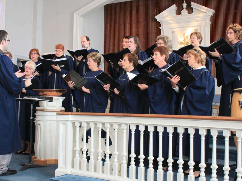 Liturgical Church in Haddonfield, NJ worshiping through song and prayer. We serve together.