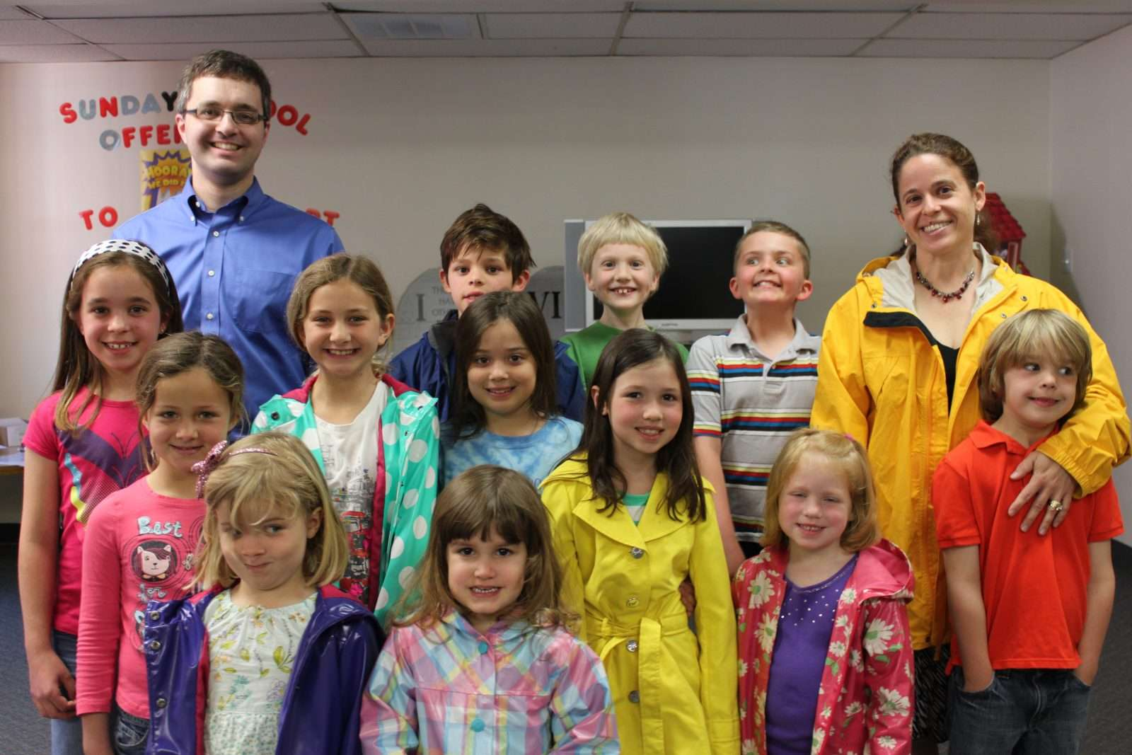 Children & Family Ministry Weekly Sunday School Classes