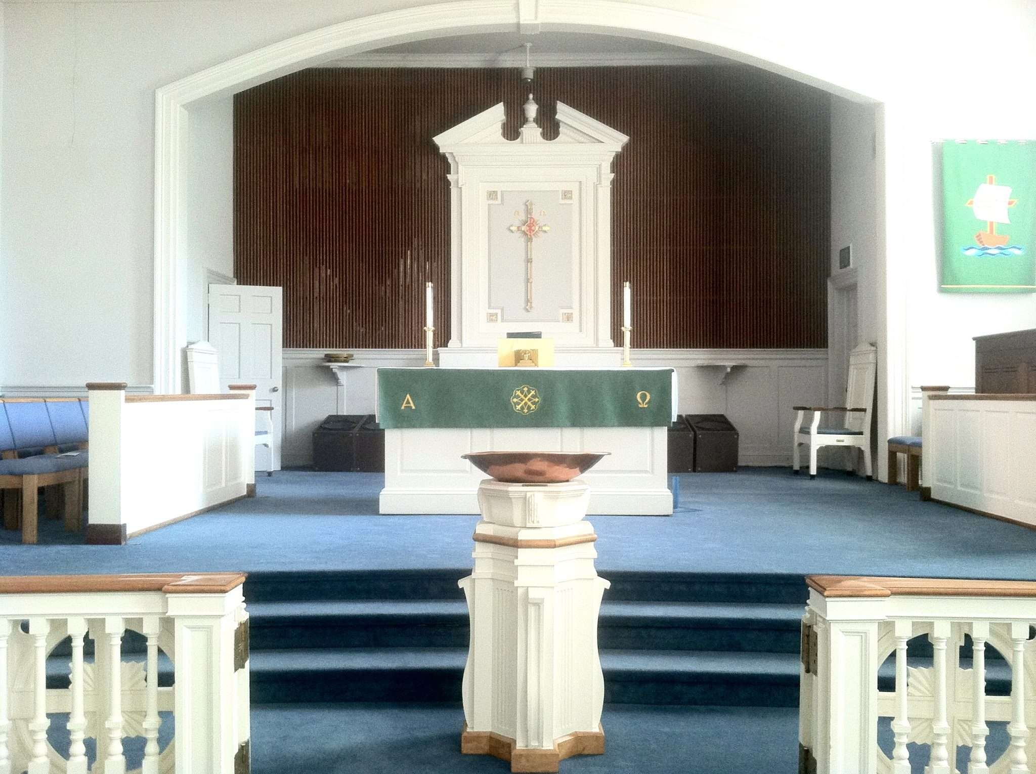 Lutheran Church in Haddonfield received a refresh