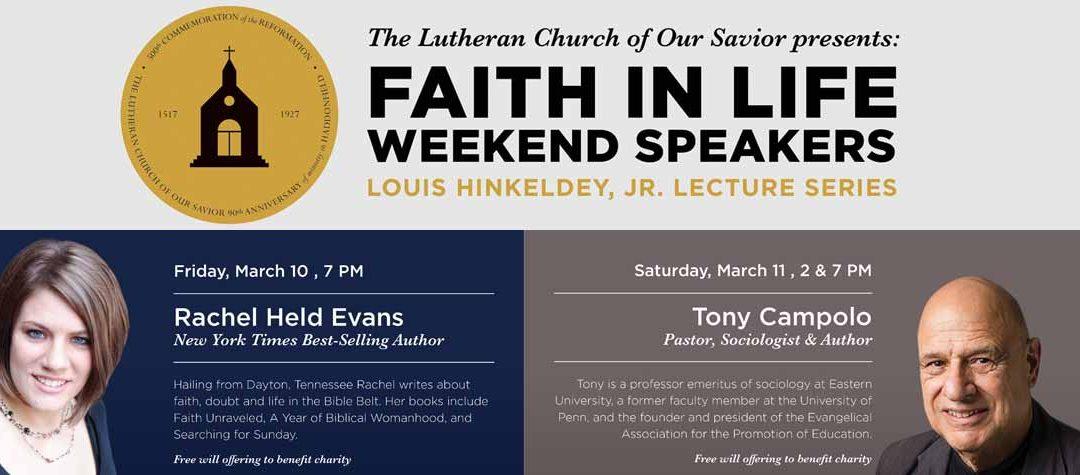 Faith in Life Weekend