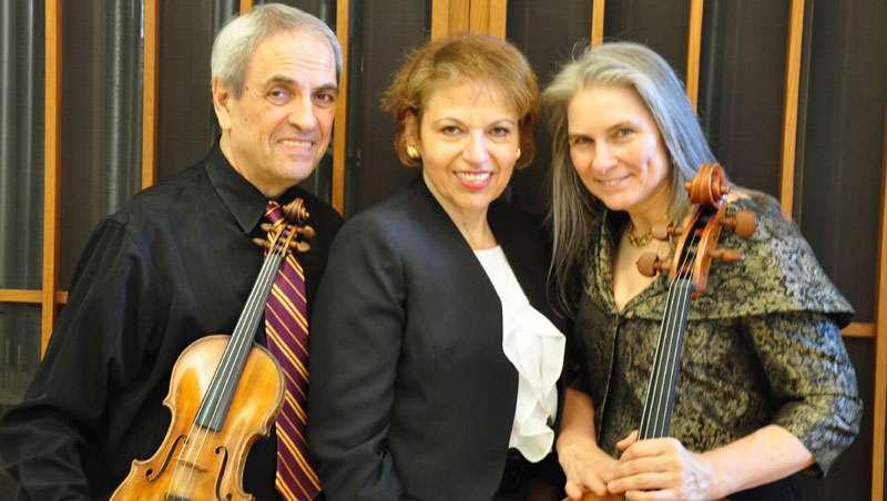 Arcadian Trio 4pm March 20th