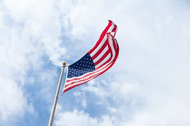 Memorial Garden Flag Retirement/Replacement on Veterans Day, November 11 at Noon