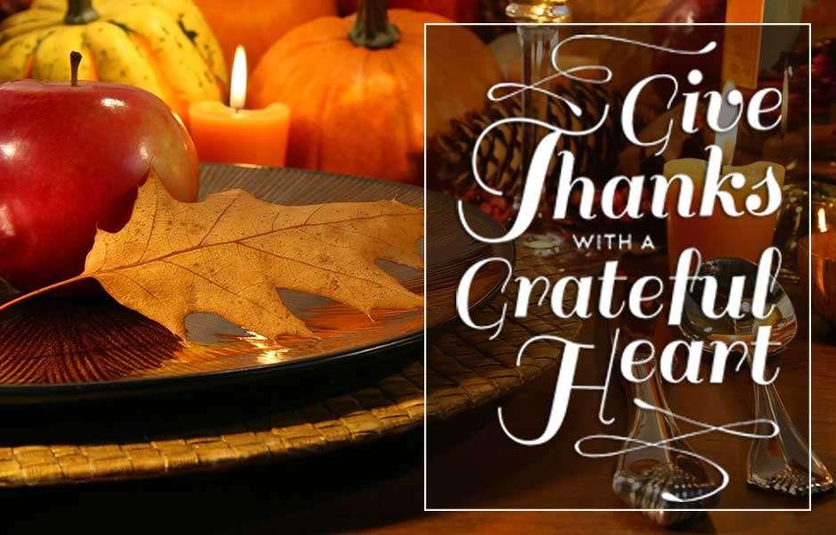 Thanksgiving Community Worship Set for Sunday, Nov 19 – 7:30 PM at Grace Episcopal Church of Haddonfield