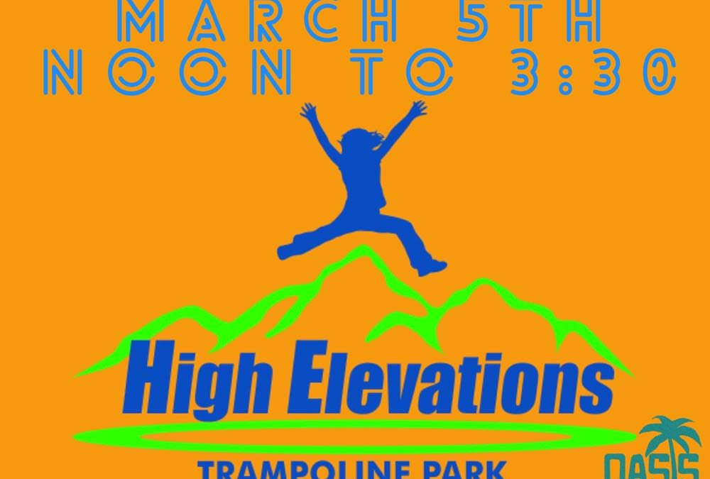 Youth Play Event: High Elevations
