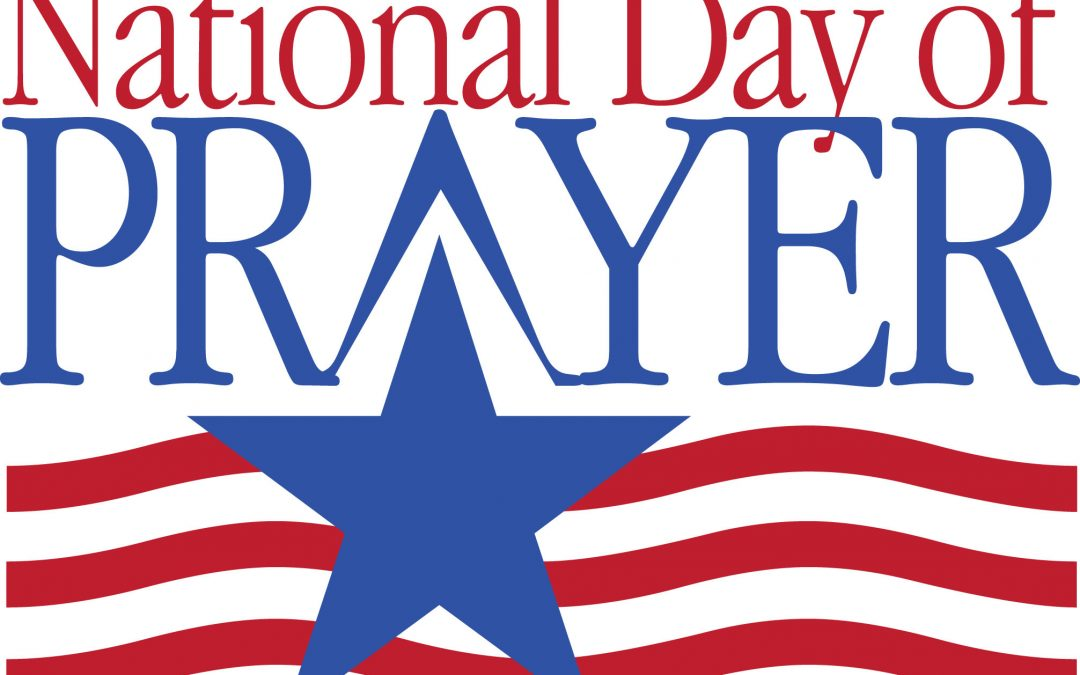 National Day of Prayer Breakfast May 2nd at 8:30am