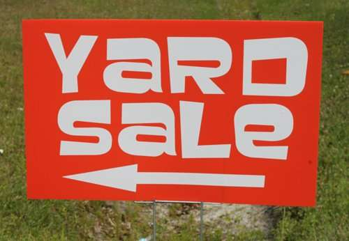 Yard Sale 8am June 3rd: Youth Fundraiser