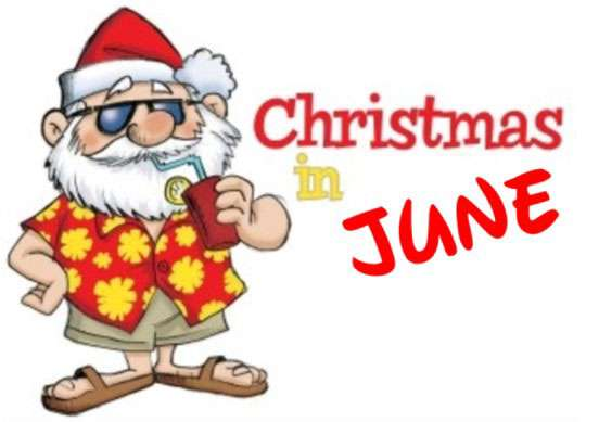 CELEBRATE CHRISTMAS IN JUNE: JUNE 16TH AT 7PM
