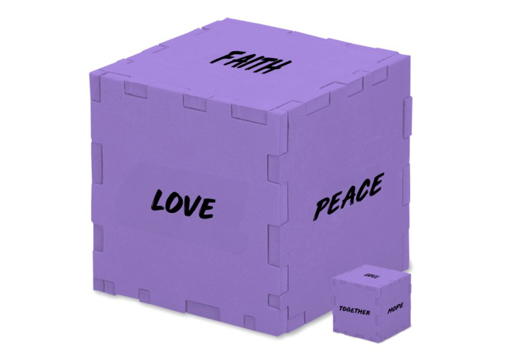 """""""Peace By Piece"""" Is Theme on Sundays in Lent – Pins & Puzzle Pieces Included!"""