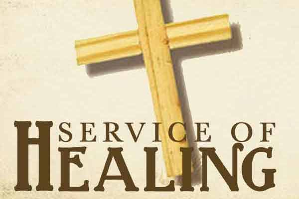 Healing Service Included in Worship on October 20