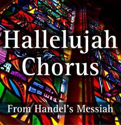 Sing! HALLELUJAH! (Literally!)